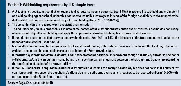 Reporting Trust and Estate Distributions to Foreign Beneficiaries ...
