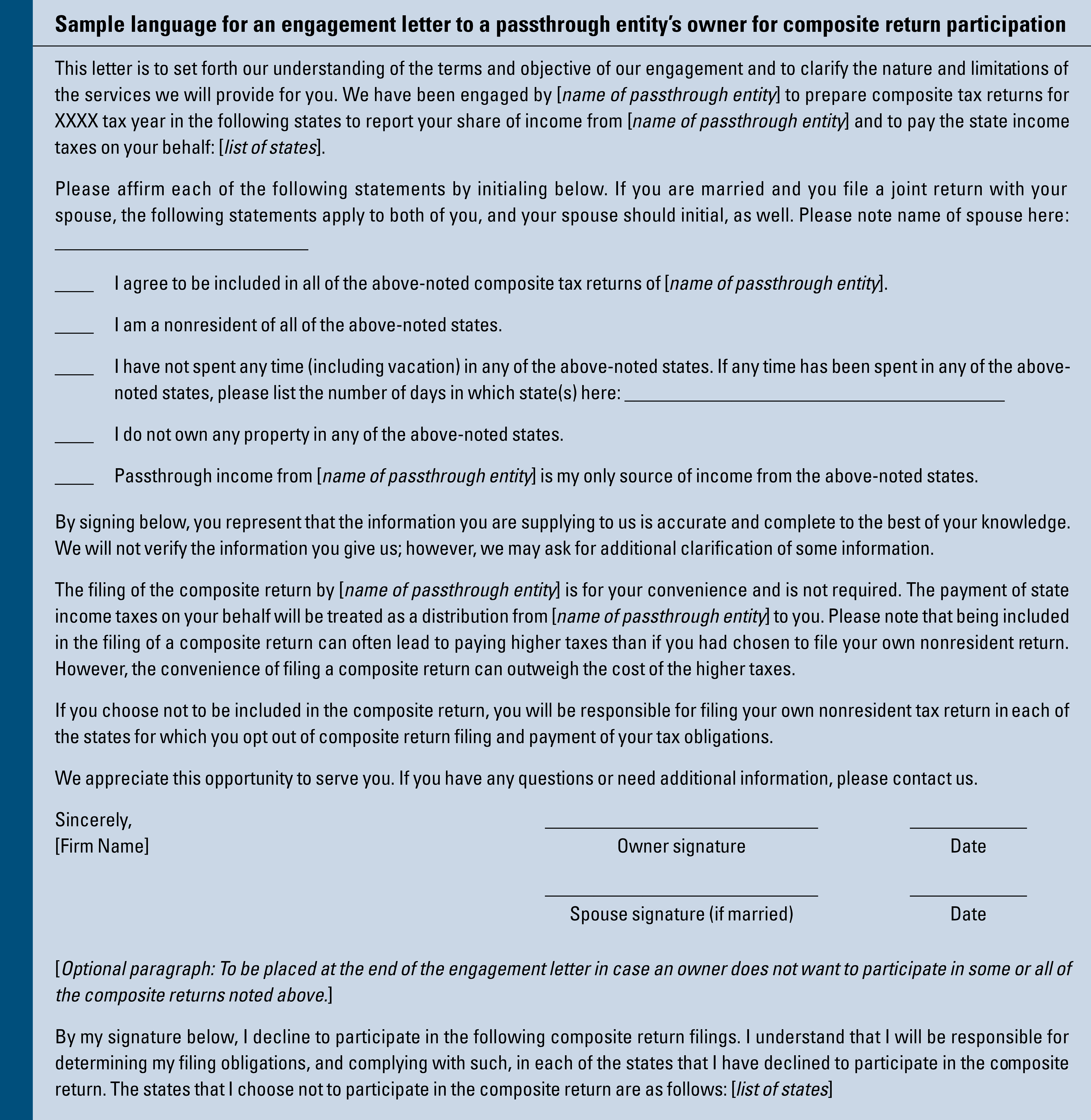 worksheet Massachusetts Agi Worksheet for filing composite tax returns powers of attorney