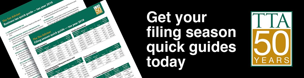 Get our 2020 filing season quick guides