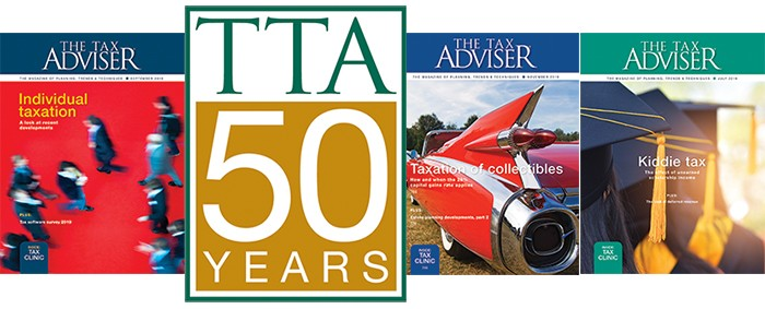 Subscribe to the leading tax magazine for CPAs
